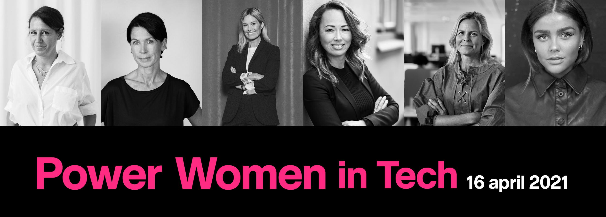 Power Women in Tech 16 april