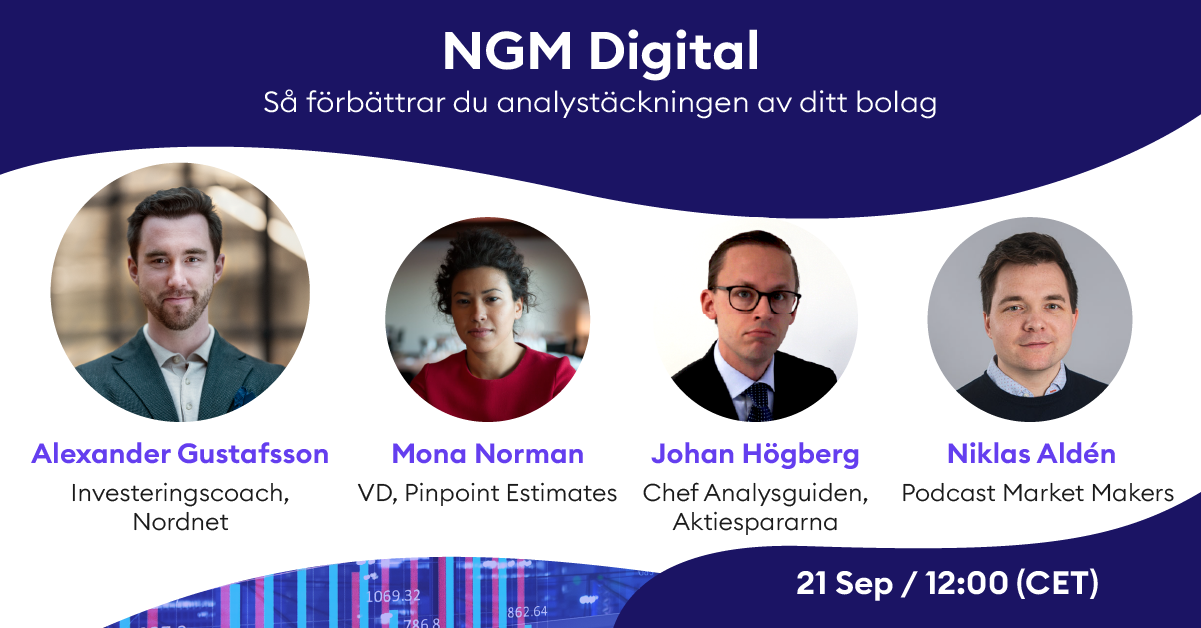 Analysevent med Nordic Growth Market (NGM)
